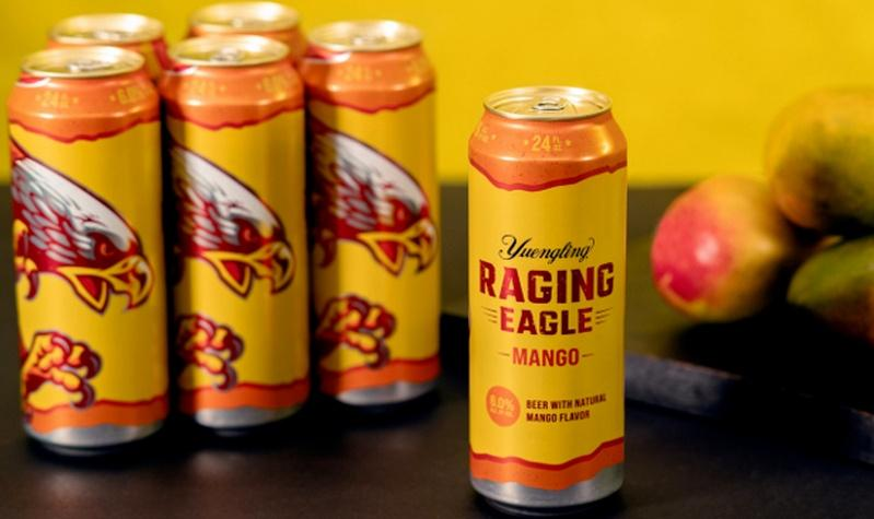 Yuengling Launches new Raging Eagle Mango Beer