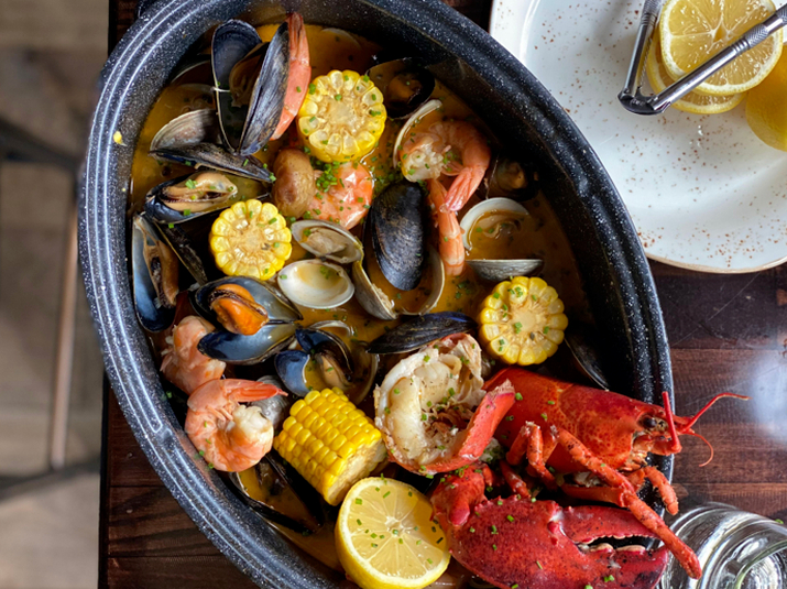 Lobster Clam Bake at Red Owl Tavern